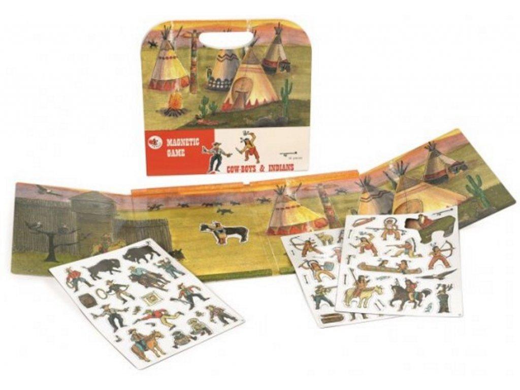 Egmont Toys   Magnetická hra Western