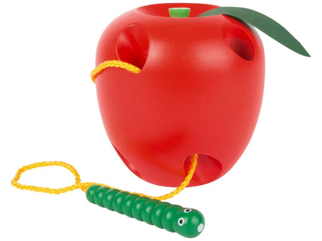 Legler | Provlékání Jablko s červíkem