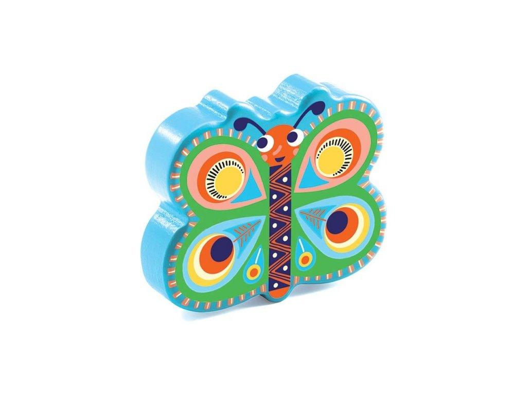 Djeco | Hudební motýlek Maracas