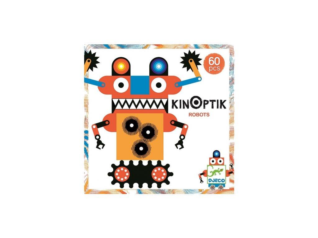 Djeco | Kinoptik Roboti 60 ks