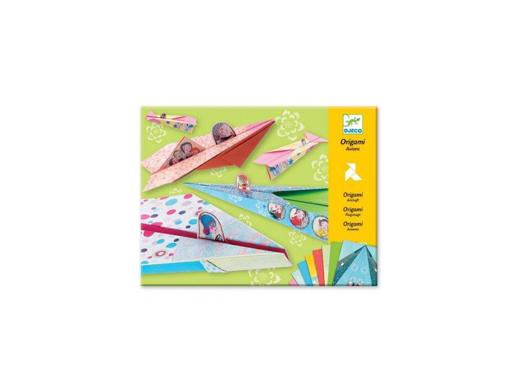 Djeco | Origami skládačka Letadla Dívčí
