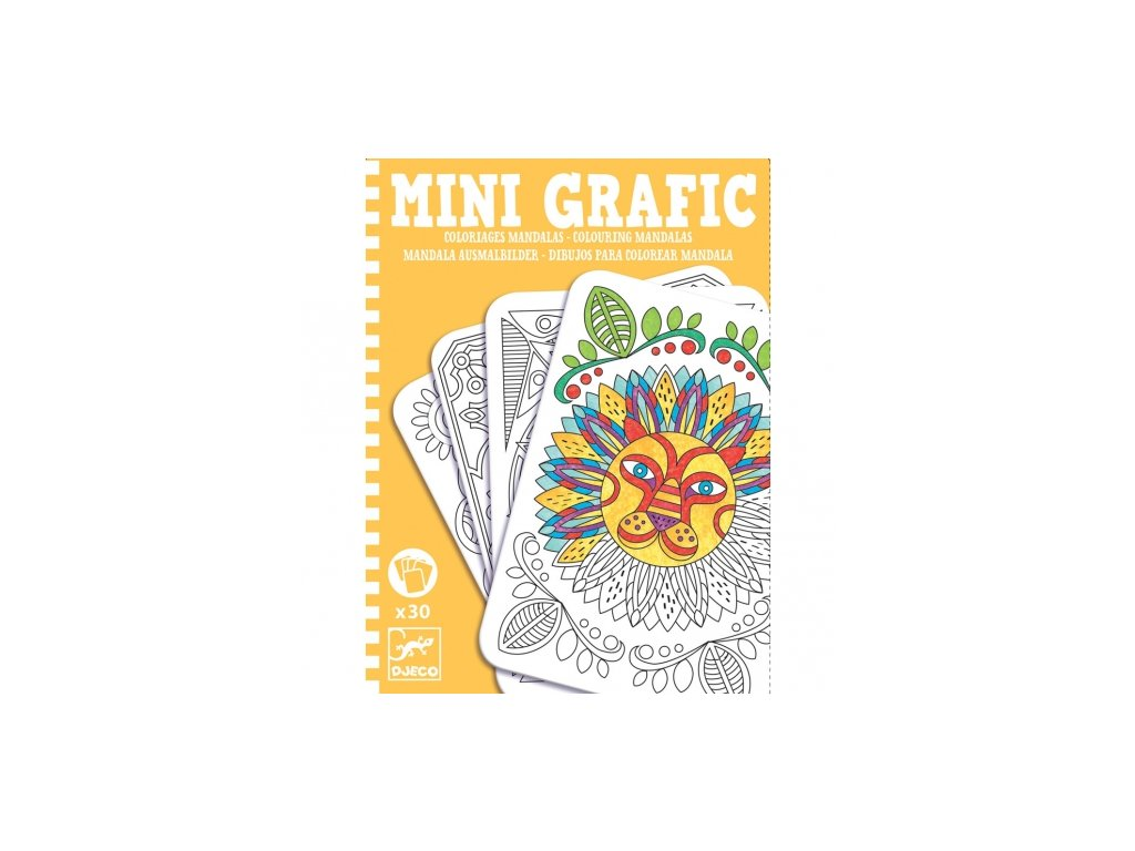 Djeco | Mini grafic - Mandaly