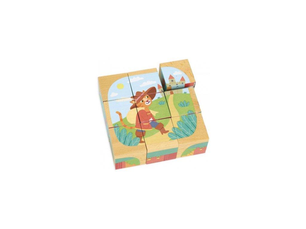 Vilac | Dřevěné kostky - Příběhy