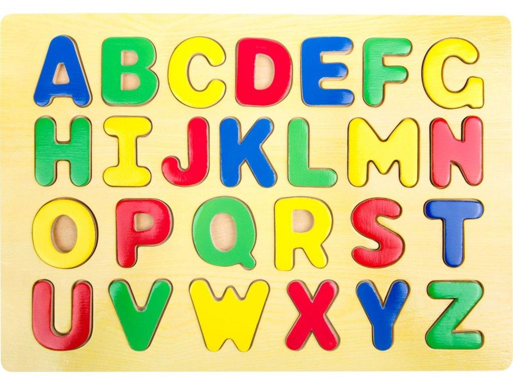 Legler | Vkládací puzzle Abeceda