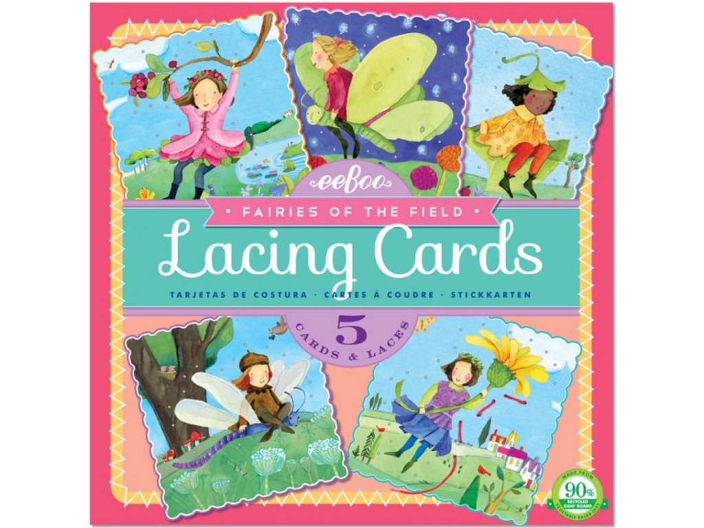 Fairies of the Field Square Lacing Cards 01