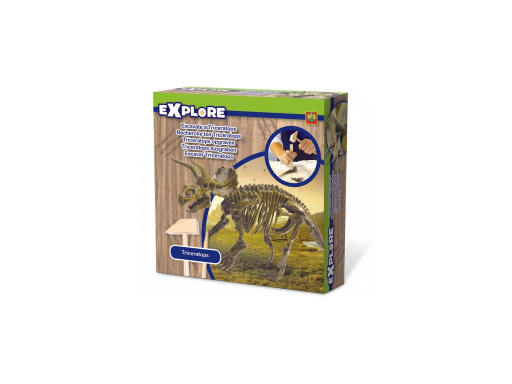 SES | Malý archeolog Kostra Triceratops