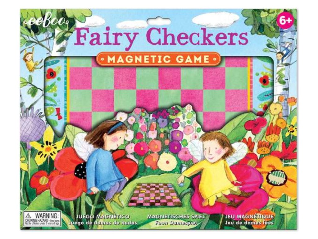 Fairy Checkers Magnetic Game 01