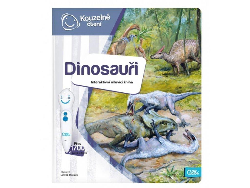 Albi | Kouzelné čtení - kniha Dinosauři