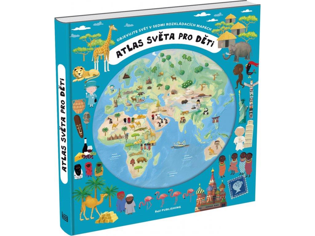 Atlas sveta pro deti 9788087222331