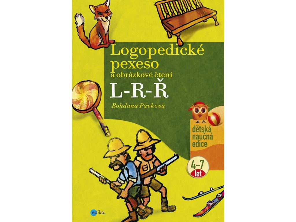 B. Pávková | Logopedické pexeso a obrázkové čtení L-R-Ř