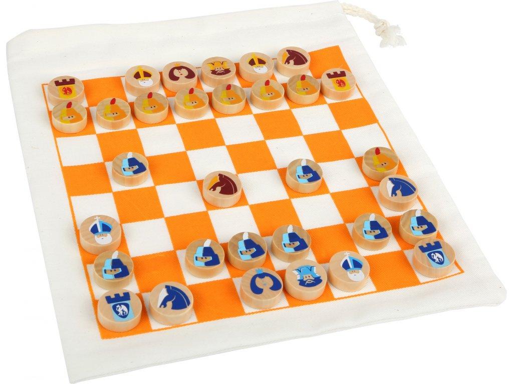 Legler| Cestovní šachy v pytlíku
