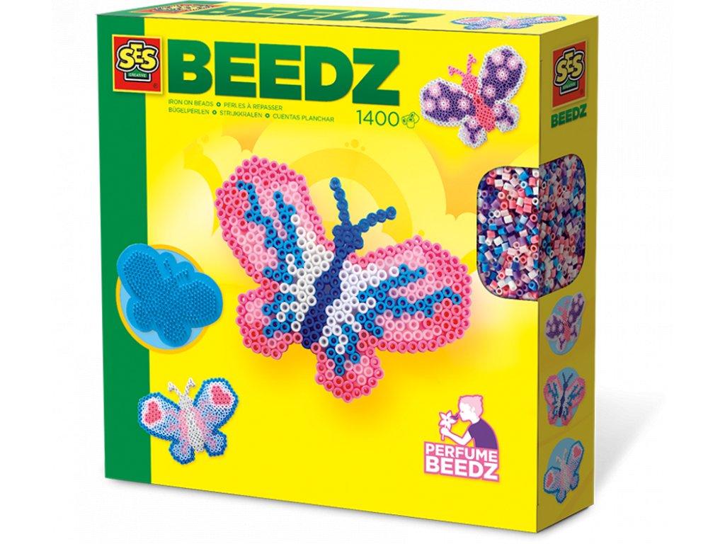 SES | Zažehlovací korálky voňavé - Motýl 1300 ks