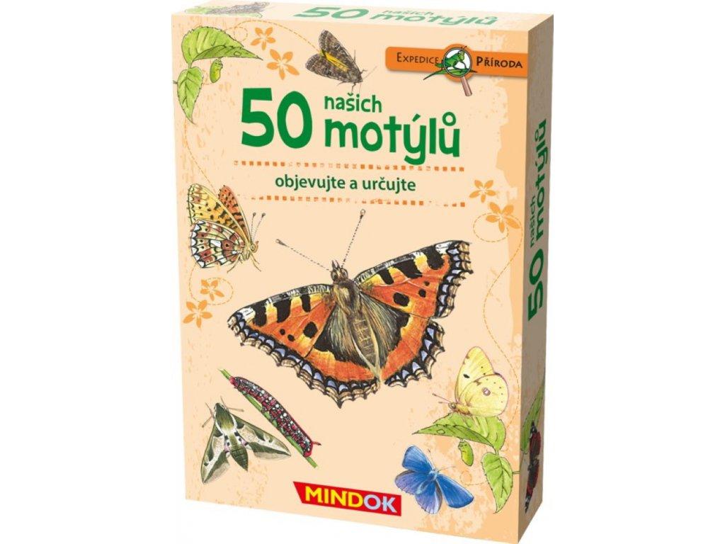 Mindok | Expedice příroda: 50 našich motýlů