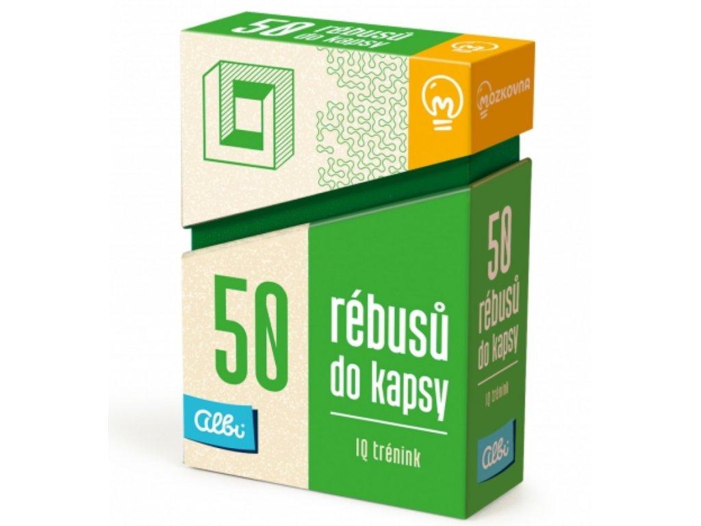 Albi | 50 rébusů do kapsy - IQ trénink