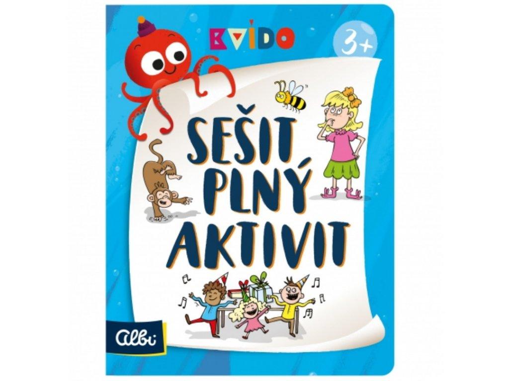 Albi   Kvído - Sešit plný aktivit 3+