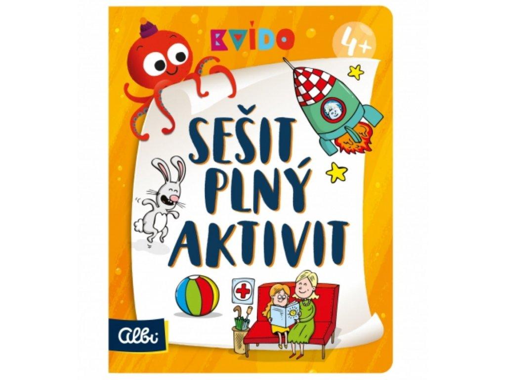 Albi   Kvído - Sešit plný aktivit 4+