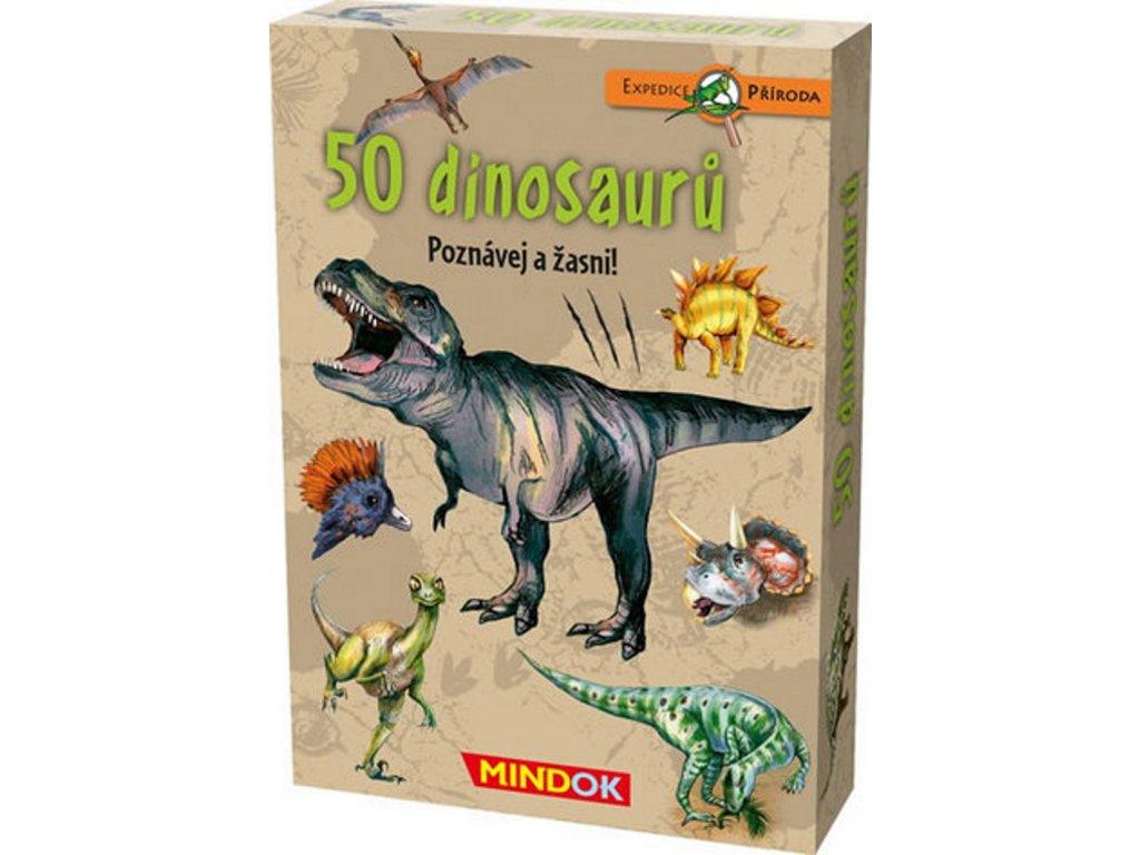 expedice priroda 50 dinosauru mindok