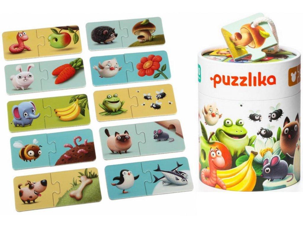 12992 puzzlika naucne puzzle jidlo tit