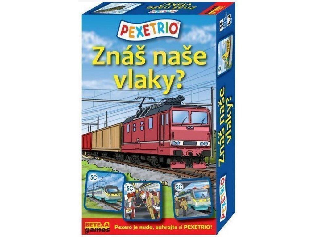 834 pexetrio vlaky