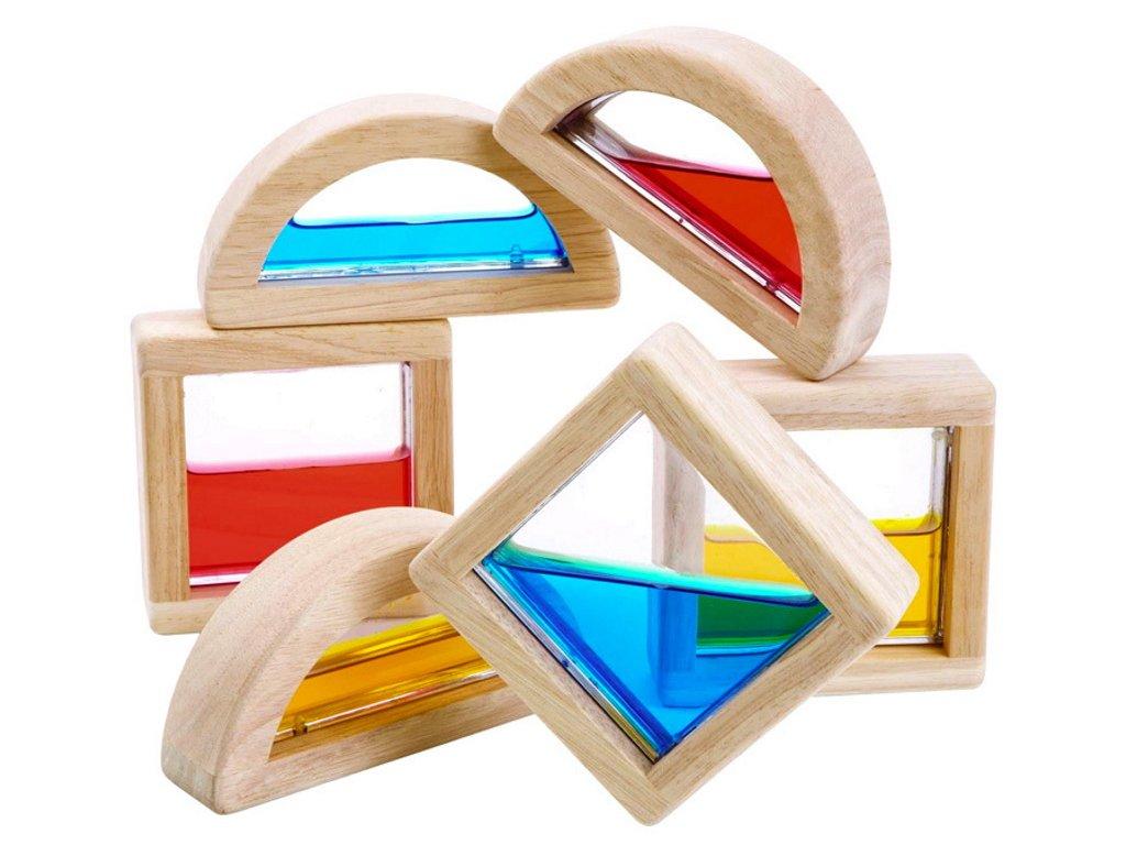 PT5523 stavebnice kostky s vodou michani barev