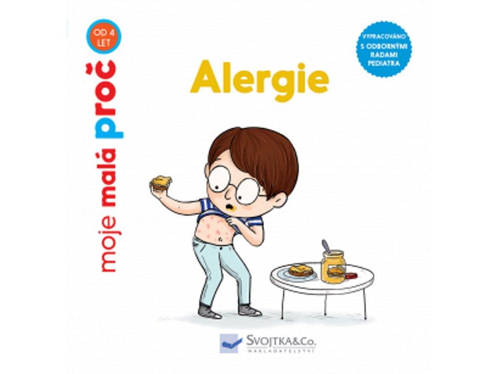 9788025626399 kniha alergie pro deti