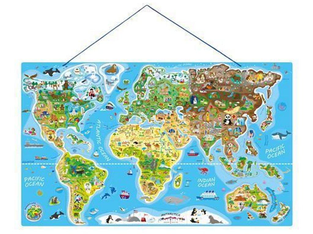 91290 woody mapa sveta