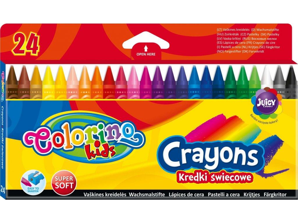 R13895PTR colorino voskovky 24 barev
