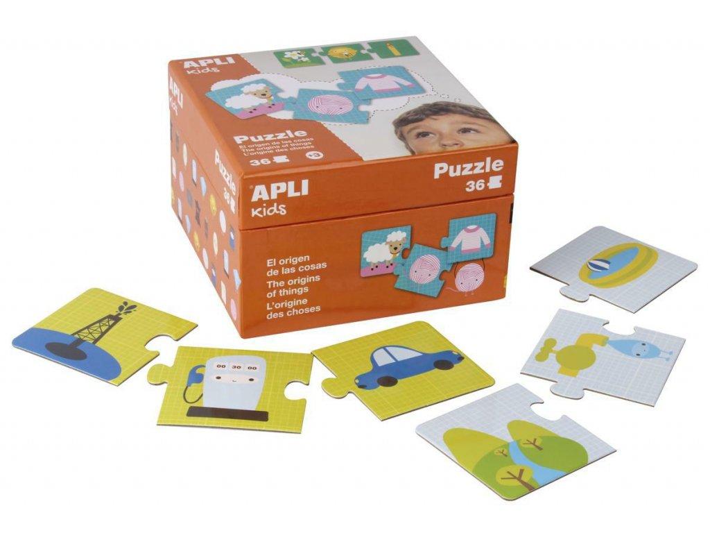 A14406 apli puzzle puvod veci