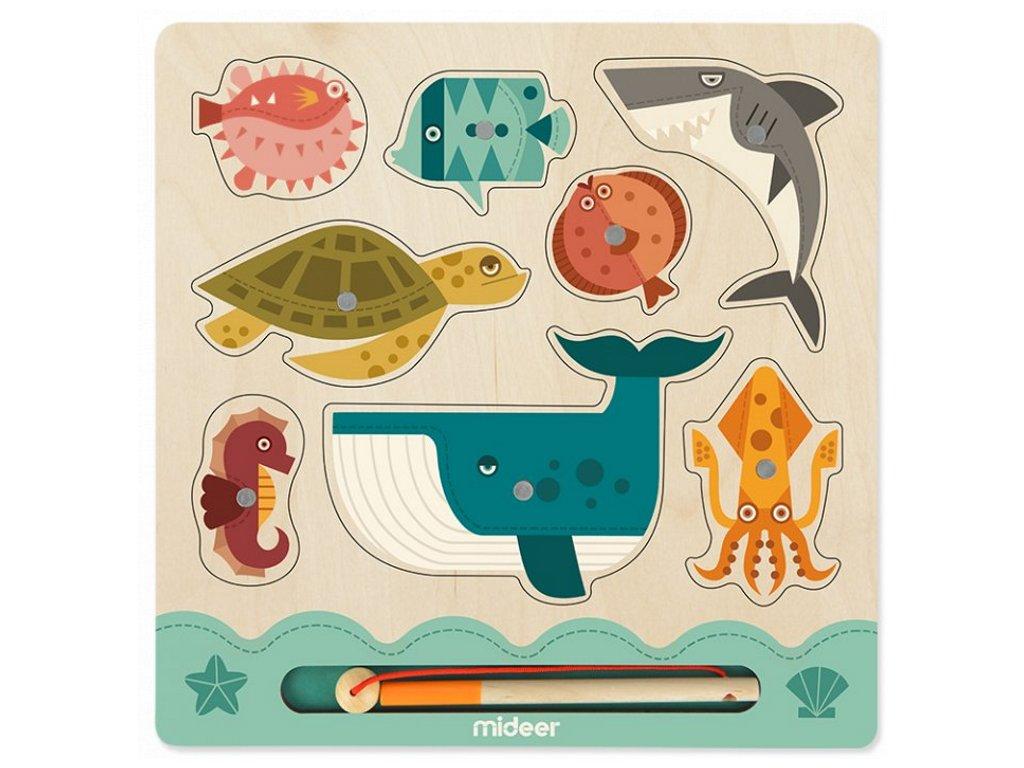 MD2050 mideer vkladaci puzzle loveni rybek
