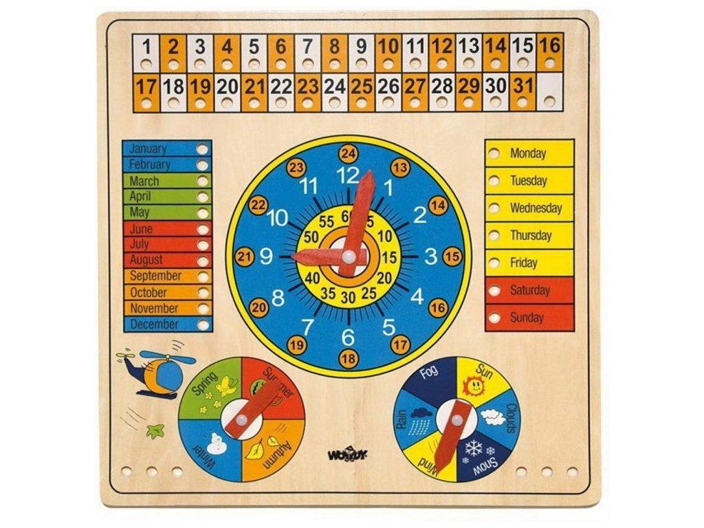 90659 woody kalendar s barometrem aj
