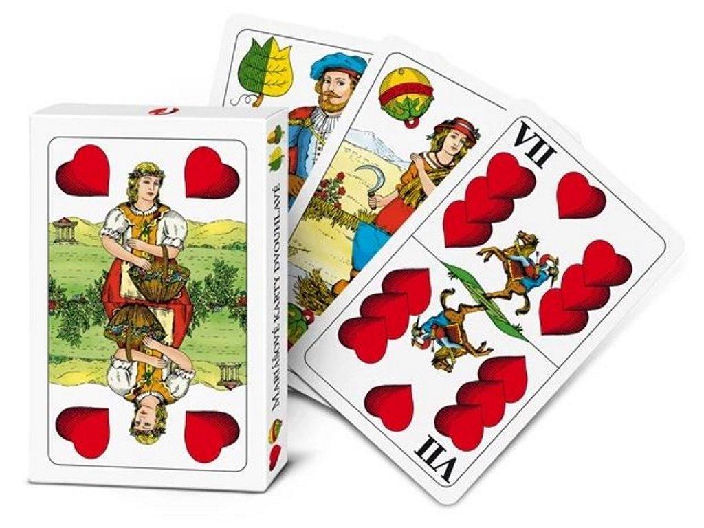 54937 efko mariasove karty dvouhlave