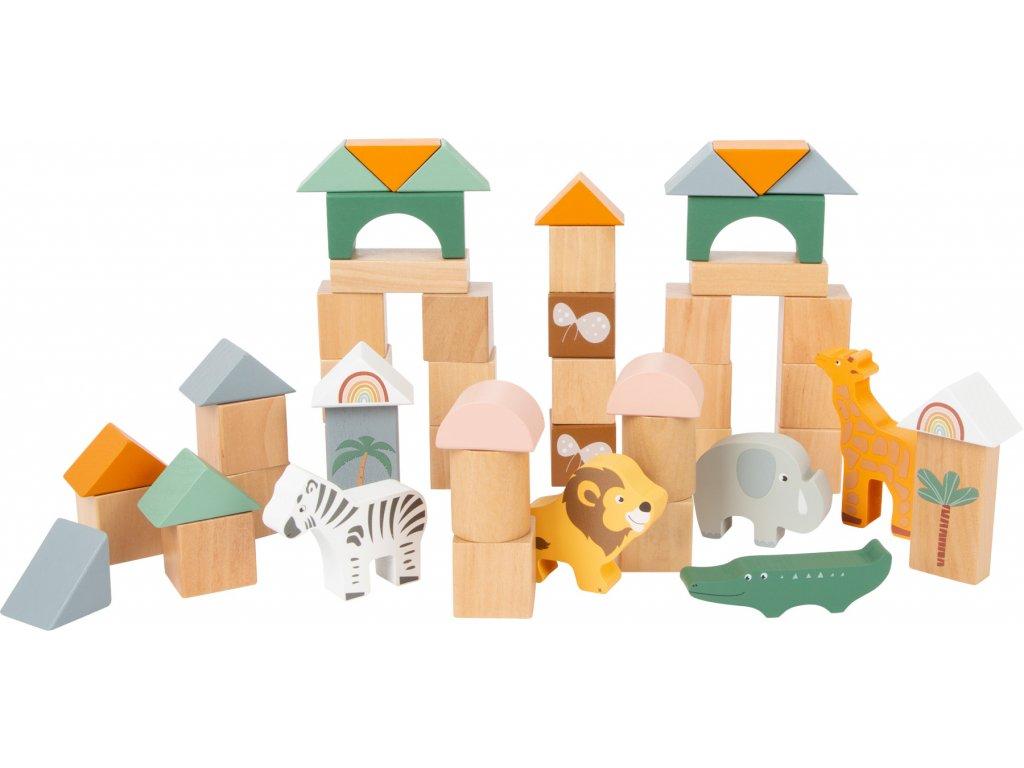 11699 legler stavebnice kostky safari