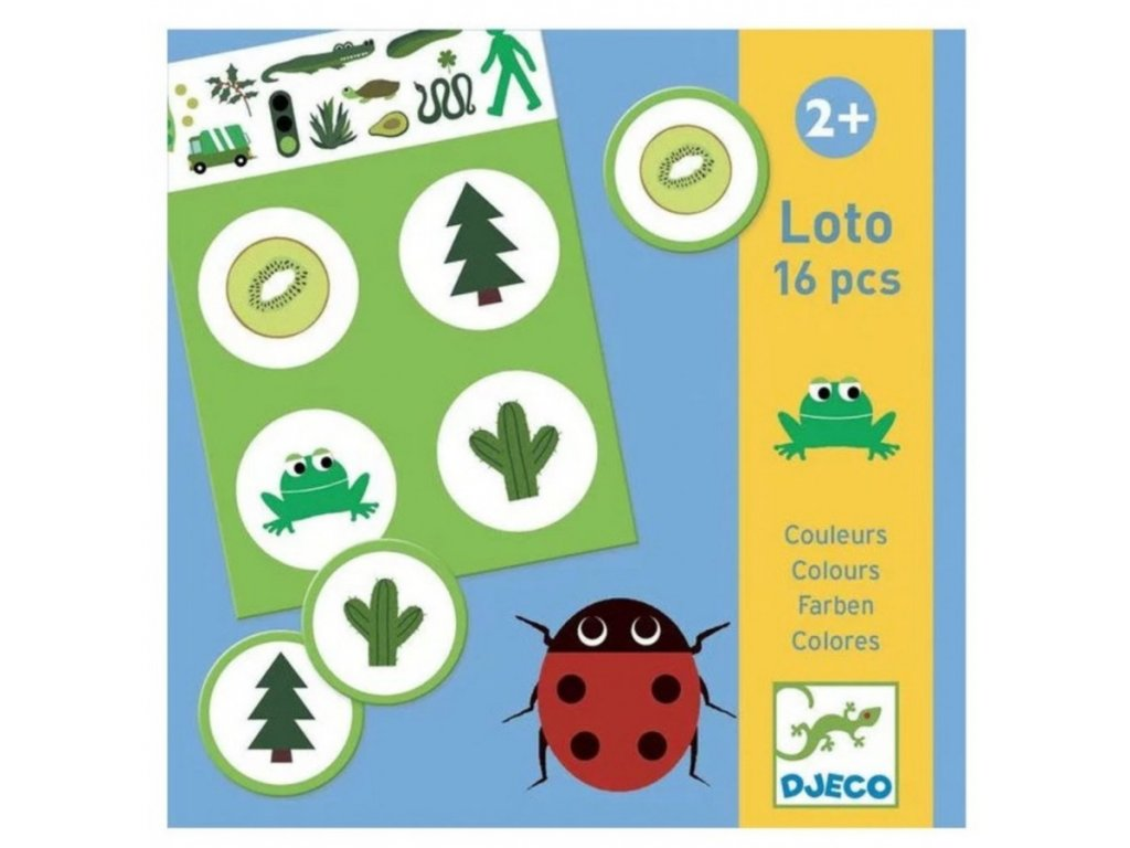 DJ08128 djeco loto barvy