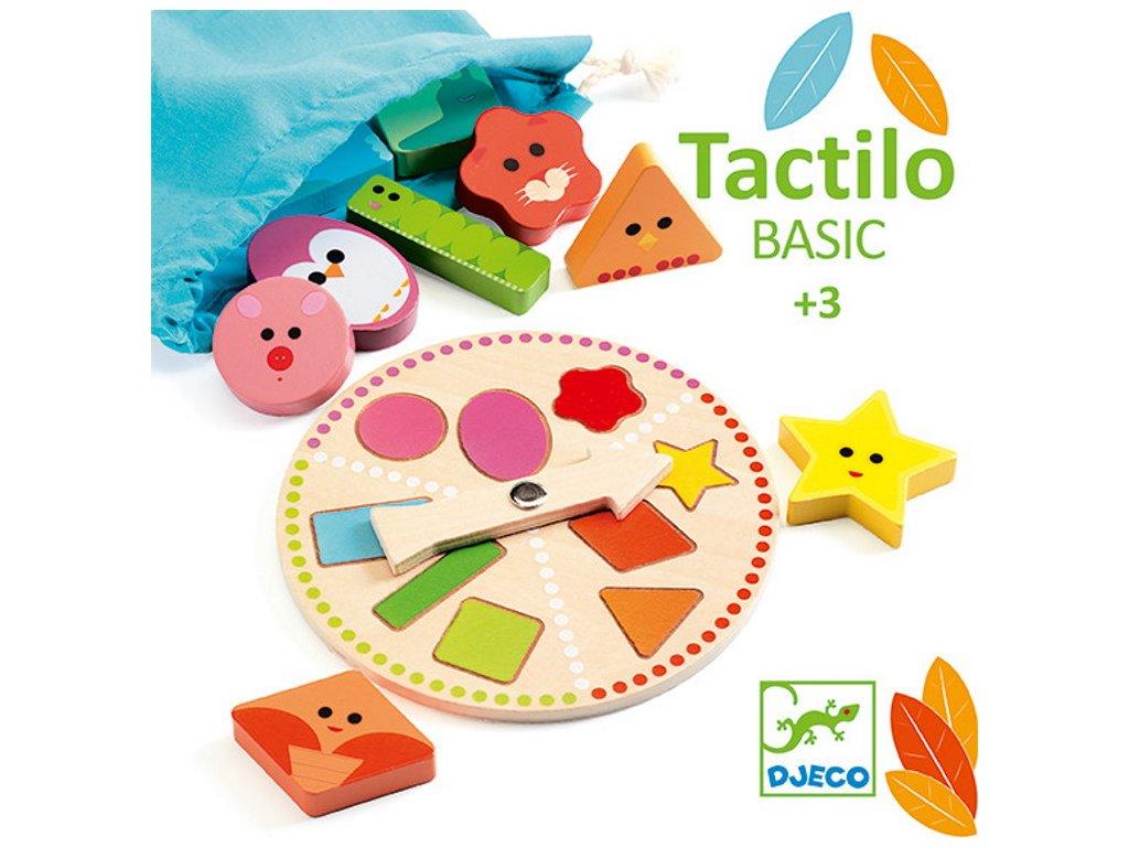 DJ06214 djeco tactilo basic hmatova hra