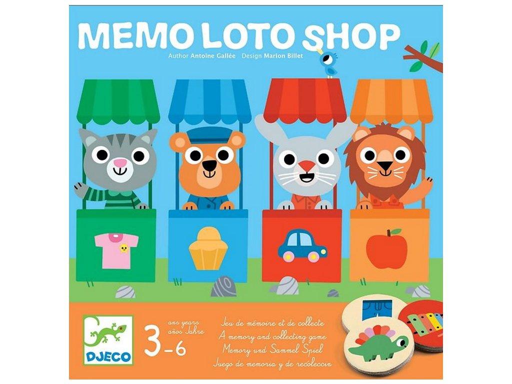 DJ08537 djeco pametova hra loto obchod