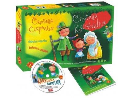 11535 alexander cervena karkulka hra s knizeckou a cd