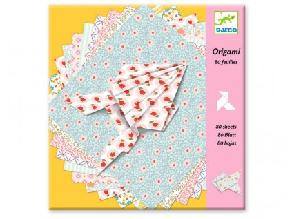 DJ08770 djeco origami ozdobné papíry 1