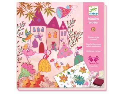 Djeco | Výtvarná sada Příběh princezny