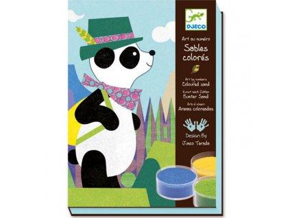 DJ08630 djeco pískování panda a kamarádi 5