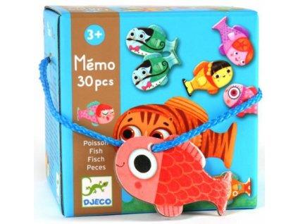 Djeco | Pexeso: Rybičky