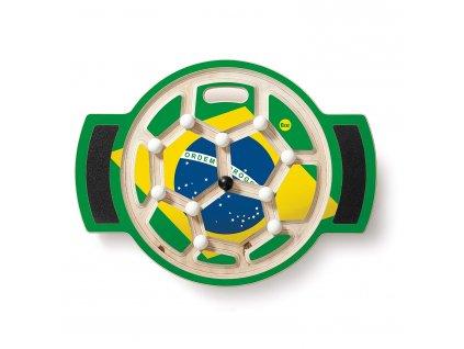 Erzi | Balanční deska Fotbal 2014 - tým Brazílie