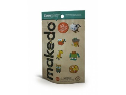 Makedo | Kit for Fun (33 dílků)
