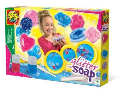 SES | Výroba barevných mýdel