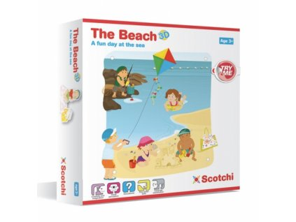 Scotchi | Pláž 3D