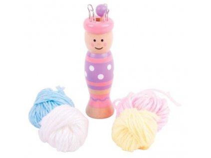 Bigjigs Toys   Pletací panenka