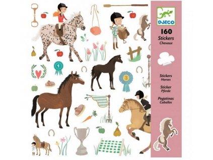 DJ08881 djeco samolepky koně 2