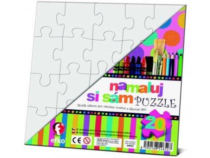 Efko | Namaluj si sám Puzzle 2 čtverce