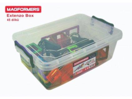 Magformers | Extenzo Box 45 dílků