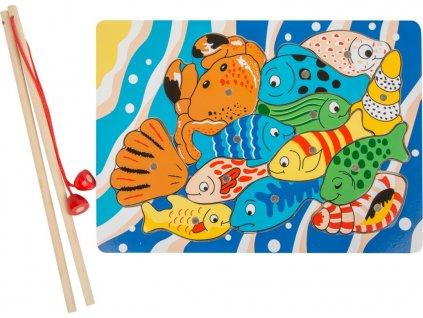 Legler | Motorické puzzle Rybaření