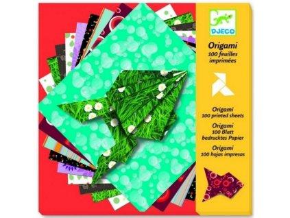 Djeco | Origami Ozdobné papíry veselé